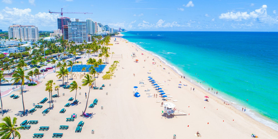 fort lauderdale's beaches